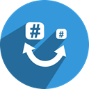 free, Social, network, media, feem DodgerBlue icon