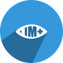 view, Eye, Im+, im DodgerBlue icon