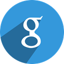 Social, media, google, network DodgerBlue icon