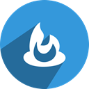 network, Feedburner, media, free, Social DodgerBlue icon