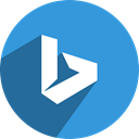 free, network, media, Social, Bing Icon
