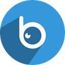 Social, media, Badoo, network DodgerBlue icon
