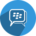 Bbm, free, Comment, network, media, Chat, Social SteelBlue icon