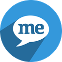 media, network, appme, free, Social DodgerBlue icon