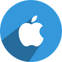 network, media, Social, Apple DodgerBlue icon