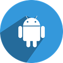 Social, google, network, App, media, Android, free DodgerBlue icon