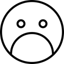 sadness, Not Happy, expression, Gestures, Emotion, unhappy, Gloomy Black icon