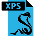 Xps, Format, File, Sumatrapdf DodgerBlue icon