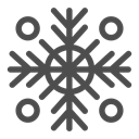 christmas, sky, Snow, Clouds, winter, Cold, snowflake DarkSlateGray icon