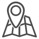 world, tourism, trip, tap, mountains, Adventure, Map DarkSlateGray icon