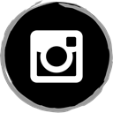 media, Logo, Instagram, Social Black icon