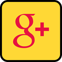 media, google, online, Social, plus Gold icon