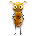 Ant, insect, Animal, bug Black icon