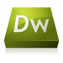 adobe, dreamweaver DarkOliveGreen icon