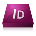 Indesign, adobe Purple icon