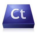 Contribute, adobe MidnightBlue icon