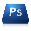 Ps, adobe, photoshop MidnightBlue icon
