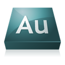 Audition, adobe DarkSlateGray icon