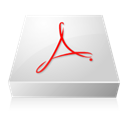 Acrobat, adobe Gainsboro icon