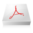 adobe, Acrobat Gainsboro icon