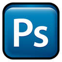 photoshop, Cs, Ps, adobe Teal icon