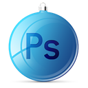 photoshop, Ps SteelBlue icon