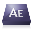 After, effects, adobe DarkSlateGray icon