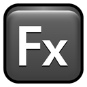 Cs, flex, adobe DarkSlateGray icon
