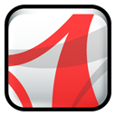 reader, adobe, Acrobat Crimson icon