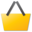 buy, yellow, Basket, shopping, Cart, shopping cart, commerce, sell Gold icon