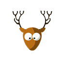 nature, deer, wild, Animal, Forest Icon