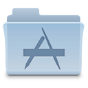 Folder, Application LightSteelBlue icon