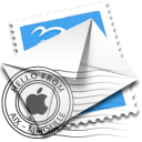 Email, Letter, Message, mail, envelop WhiteSmoke icon