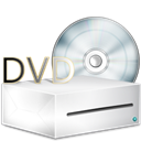 disc, Dvd, Box, lecteur WhiteSmoke icon