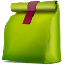 Box, propre, Corbeille, vide YellowGreen icon