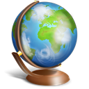 globe, terrestre, earth, planet, world Black icon