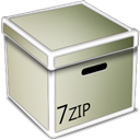 Zip, Box Silver icon