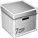 Box, Zip LightGray icon