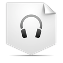 sound, Clipping, voice Gainsboro icon