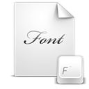File, paper, document, Font Gainsboro icon