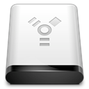 Firewire, drive Gainsboro icon