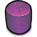 Cylinder, purple DimGray icon
