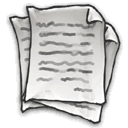 Clean, document DarkSlateGray icon