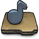 music DimGray icon