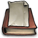Pages, Book RosyBrown icon