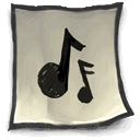 Clipping, Audio DarkGray icon