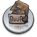 buuf, the, wa, Logo, once, this DimGray icon