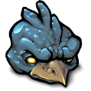 thunder, chicken DimGray icon