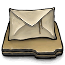 mail, more Tan icon
