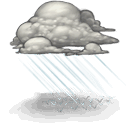 Rain, lame DarkGray icon